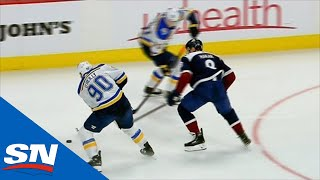 Ryan O'Reilly Makes A Spin-O-Rama Pass To Set Up Oskar Sundqvist