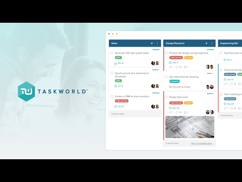 Introducing Taskworld