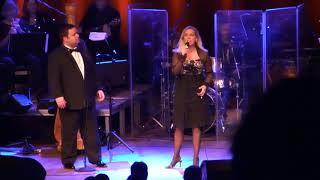 Paul Potts and Lene Siel Perhaps Love -  Aaberaa December 2012