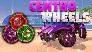 All Painted 'CENTRO' Wheels On Rocket League