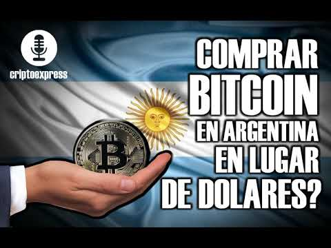 Comprar Bitcoin En Argentina En Lugar De Dólares?