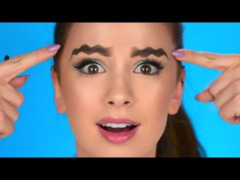 Wavy Eyebrows?! – Trying New Viral Instagram Trend