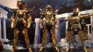 聖闘士星矢 30周年イベント ゴールドセイント 等身大12体 黄金聖闘士