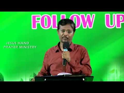 VINCENT SELVAKUMAR MESSAGE - (PART 2) REVIVAL WARRIORS FOLLOW UP MEET - CHENNAI