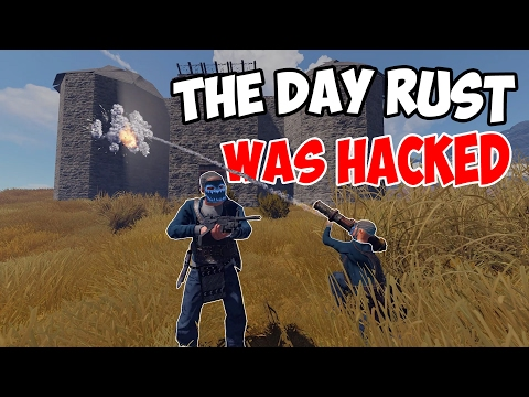 The day RUST was HACKED