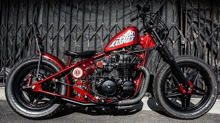 The Ultimate Retro Bobber Build - Reveal and Ride