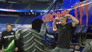 Rob Gronkowski Surprised With His New Gronk Monster Jam Truck