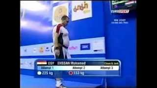 2007 World Weightlifting, +105 Clean and Jerk.avi