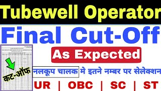 UPSSSC Tubewell Operator Exam Final Cut Off as Expected | Study Channel