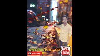 My first vlogs video by unitechrajat