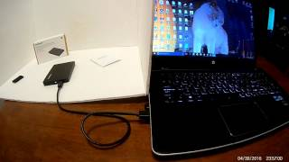 """Review and use of Nekteck 2.5""""  USB-C to USB 3.1 Hard drive enclosure"""