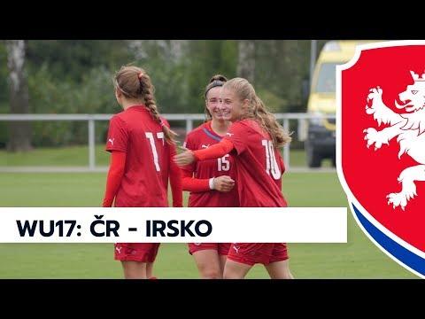 WU17: Česká republika - Irsko 1:0