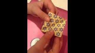 How To Make An Origami Tulip