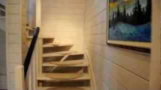 видео Дом из клееного бруса под ключ