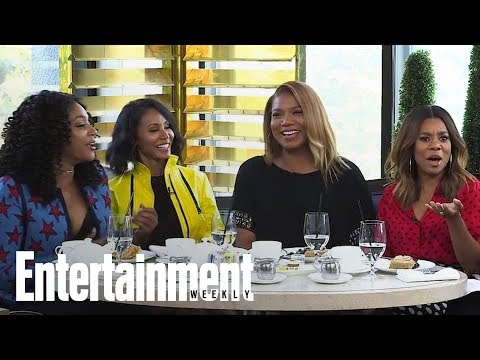 'Girls Trip' Cast Discuss The Outrageous Grapefruit Scene In The Film | Entertainment Weekly