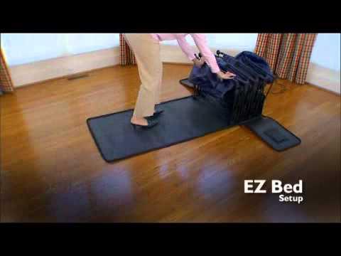 Basic Inflatable EZ Bed   YouTube