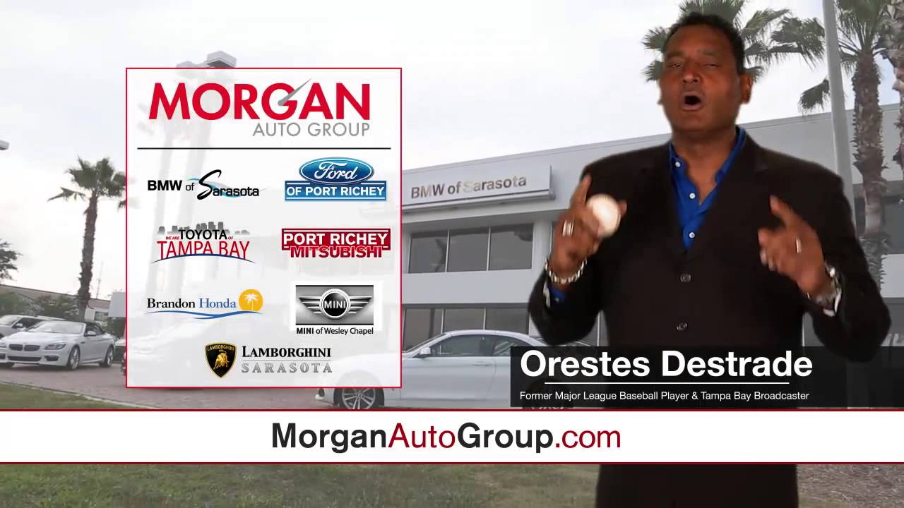 Morgan Auto Group Sun Sports Tv Ad W Orestes Destrade Youtube