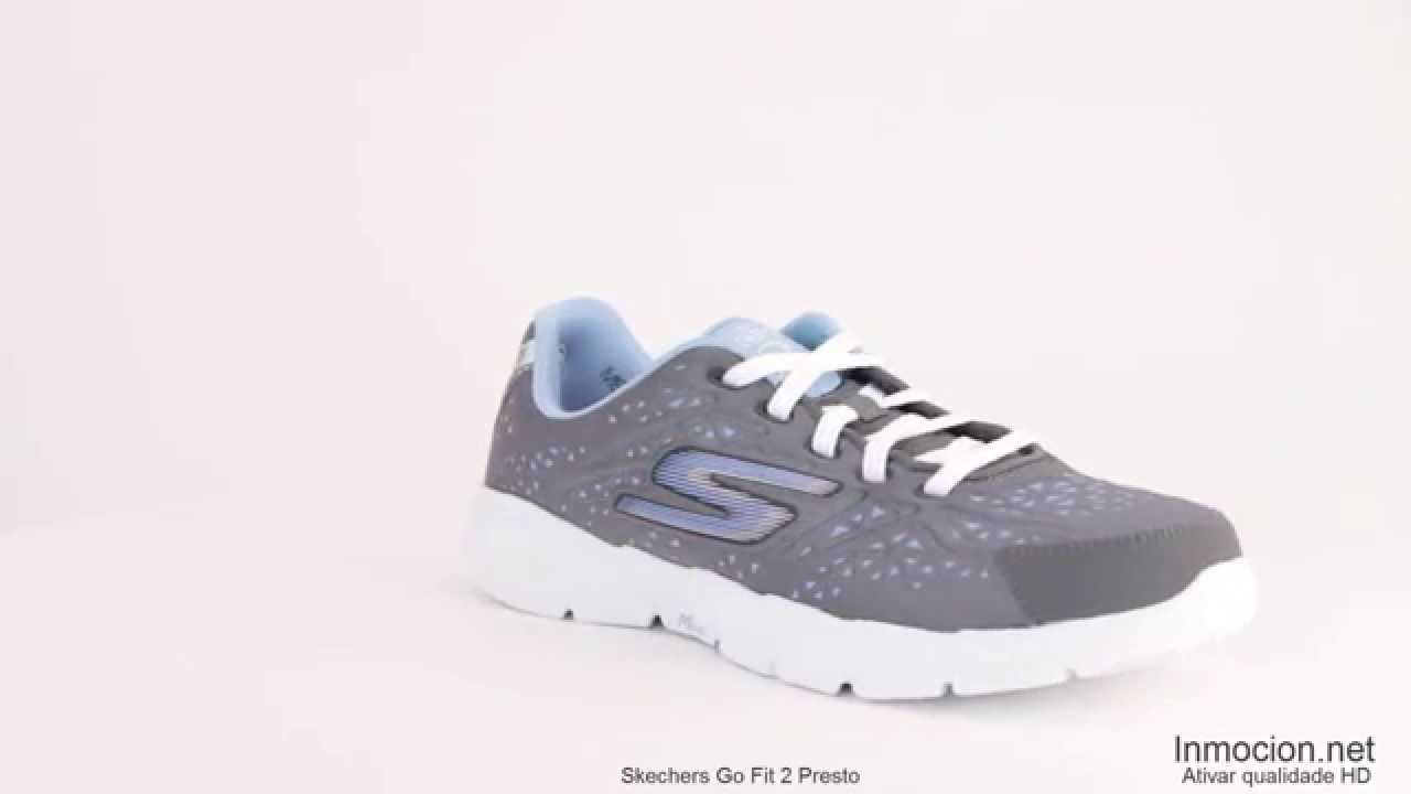 new styles 316ec 81c34 Skechers Go Fit 2 Presto - YouTube