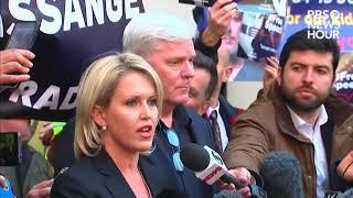 WATCH: WikiLeaks editor, Julian Assange's lawyer speak outside UK court