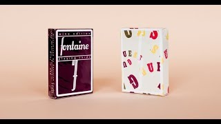 The RAREST deck I own?!?! FONTAINE WINE EDITION AND GUESS EDITION PLAYING CARDS!!