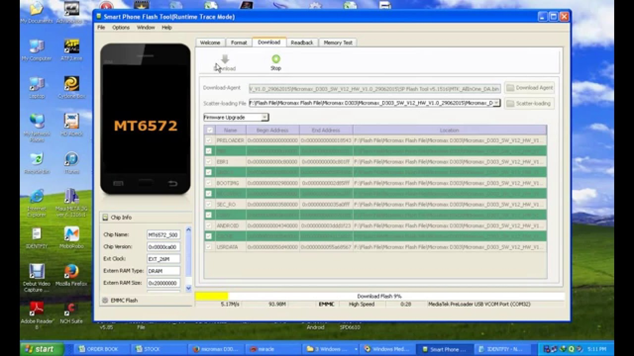 How To Software Or Flashing in Micromax Bolt D303 By Bharat