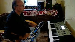 Kitna maza aa raha hai cover on banjo by Ustad Yusuf Darbar// 7977861516