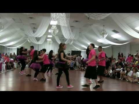 Yuliana and Sheyla's Quinceanera Surprise Dance | #baytowndancers