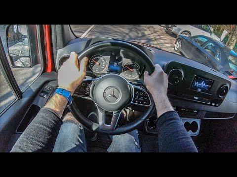 Mercedes-Benz Sprinter (2019) | 4K POV Test Drive #200 Joe Black