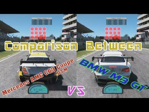 Team NLD Racing | Project CARS: Mercedes C63 DTM vs BMW M3 GT [Car Comparison]