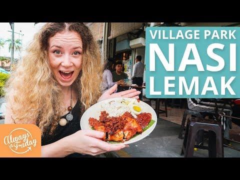 NASI LEMAK AYAM GORENG - VILLAGE PARK, DAMANSARA UTAMA, MALAYSIA