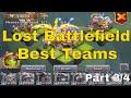 Best Lost Battlefield Teams in Castle Clash (Part 3/4)