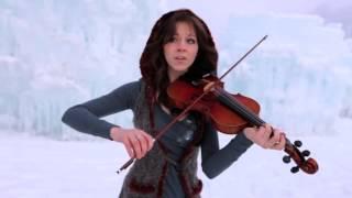 Девушка во льдах очень красиво играет на скрипке под дабстеп(, 2013-05-07T05:39:51.000Z)