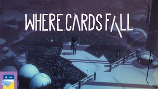 Where Cards Fall: Apple Arcade iPad Gameplay (by Snowman)