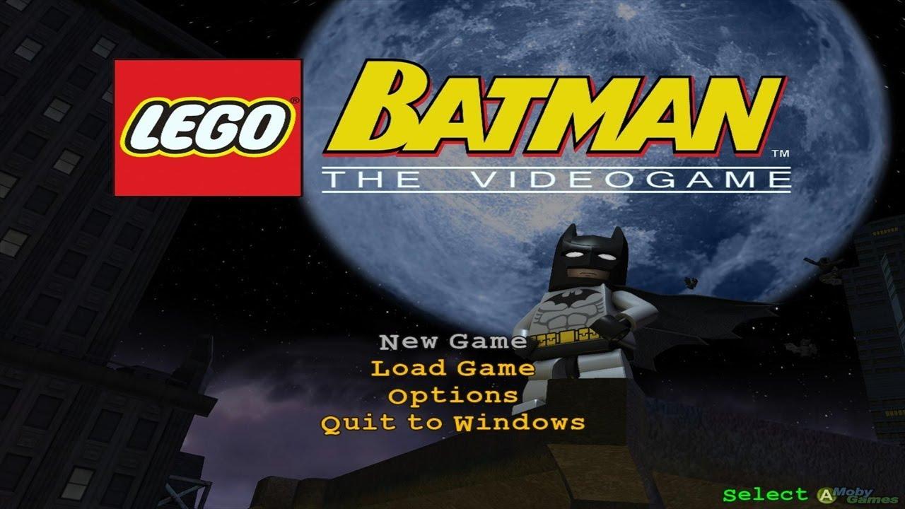 Lego Batman Walkthrough Complete Game Youtube