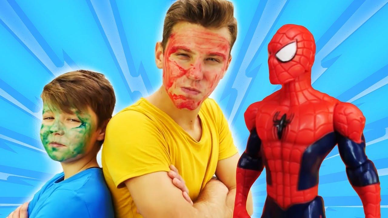 Человек Паук и новые Мстители - Школа Супергероев!