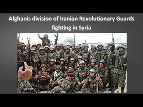 Afghani Division of Iranian Revolutionary Guards fighting in Syria
