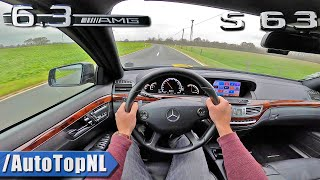 Mercedes S63 AMG W221 *SUPER LOUD* POV Test Drive by AutoTopNL
