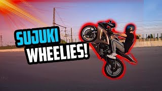 WHEELIE TRAINING MIT SUCUKI!