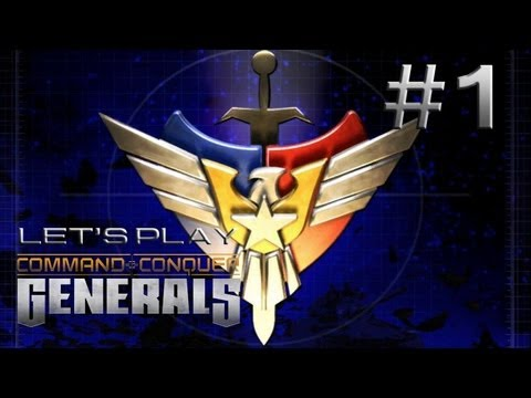 Let's Play Command and Conquer: Generals Ep. 1