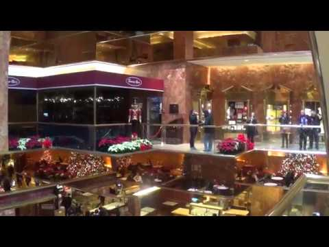 Christmas time at Trump Tower