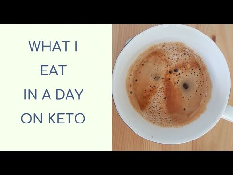 WHAT I EAT IN A DAY ON KETO | 105lbs weight loss