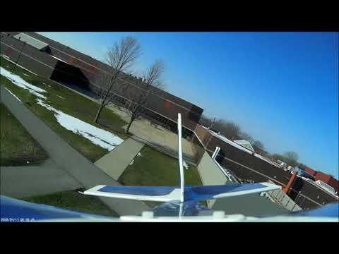 Flight over Faribault Middle School