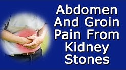Abdomen And Groin Pain From Kidney Stones