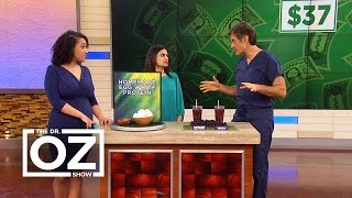 Dr. Oz Learns How to Make Egg White Protein Powder