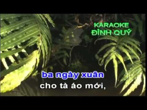 Xuân Này Con Không Về - Tân cổ karaoke (có giọng nữ)