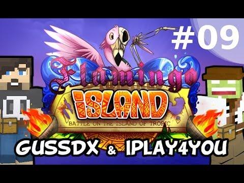 Flamingo Island #09 - Gussdx & Iplay4you - minecraft, fr, hd