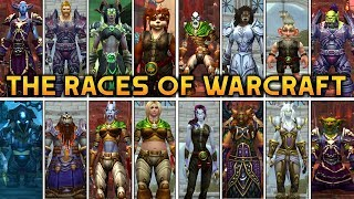 All 23 Racial Intros in World of Warcraft (Allied Races & Hero Classes included) Battle for Azeroth