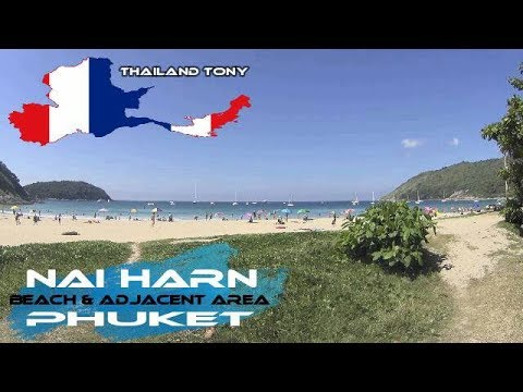Nai Harn Beach 29/12/2017 (Phuket) and adjacent area 4K includes drone footage