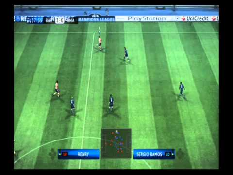 pes  2010  barcelona  vs real  madrid uefa champions league excibision (ps3)