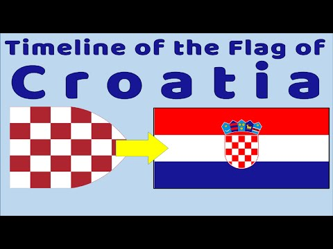 Flag Of Croatia : Historical Evolution (with The National Anthem Of Croatia)